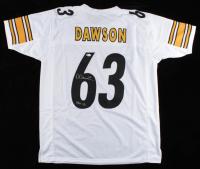 "Dermontti Dawson Signed Jersey Inscribed ""HOF 12"" (Beckett COA) at PristineAuction.com"