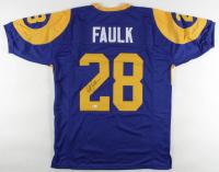 Marshall Faulk Signed Jersey (Beckett COA) at PristineAuction.com