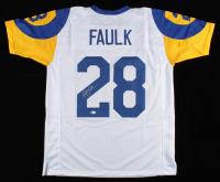 Marshall Faulk Signed Jersey (Beckett COA) at PristineAuction.com