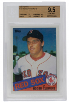 Roger Clemens 1985 Topps #181 RC (BGS 9.5) at PristineAuction.com