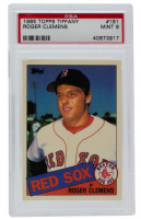 Roger Clemens 1985 Topps Tiffany #181 (PSA 9) at PristineAuction.com