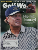 Jack Nicklaus Signed 1999 Golf World Magazine (PSA LOA) at PristineAuction.com