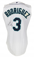 "Alex Rodriguez Signed Game-Used Mariners Jersey Inscribed ""Game-Used"", ""40/40"" & ""1998"" (Mill Creek Sports LOA) at PristineAuction.com"