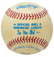Mickey Charles Mantle Signed OAL Baseball with Display Case (JSA ALOA) (See Description) at PristineAuction.com