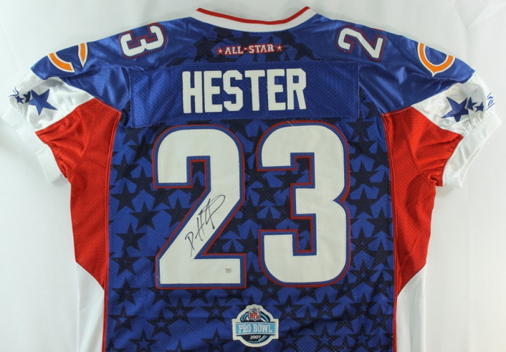 Devin Hester Signed Bears 2007 Pro Bowl Jersey (Autograph ...