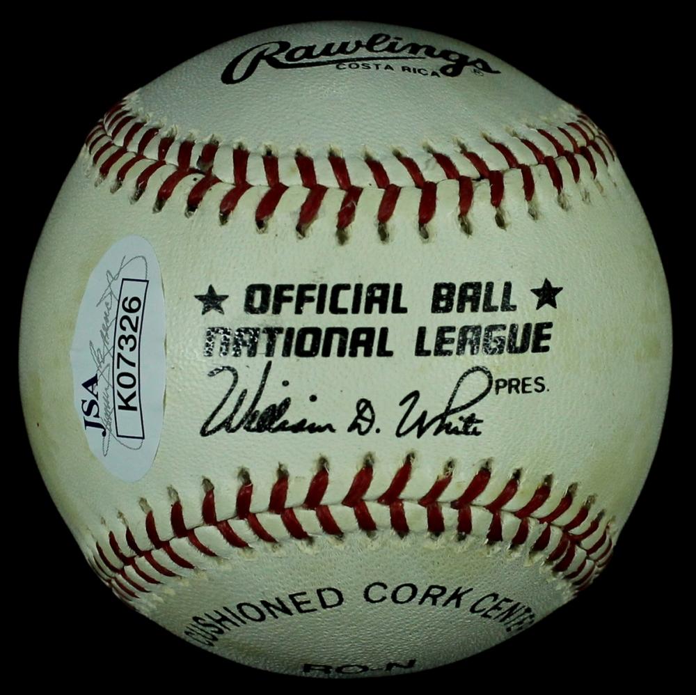 Johnny Bench Signed Baseball Worth 28 Images Johnny