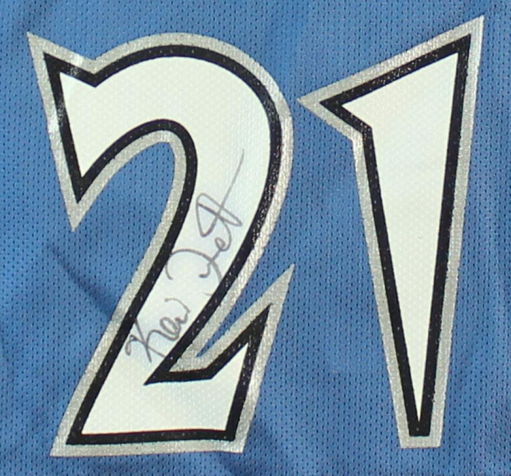 9255e756a Kevin Garnett Signed Timberwolves Jersey (JSA COA) at PristineAuction.com