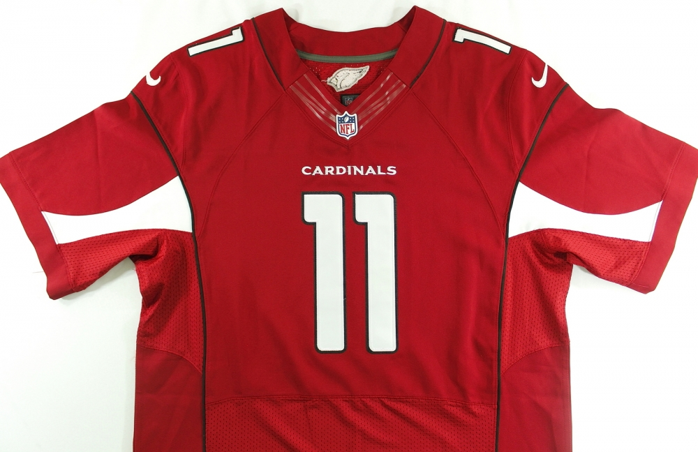 Larry Fitzgerald Signed Cardinals Jersey (PA LOA) at PristineAuction.com 68be1dcd8