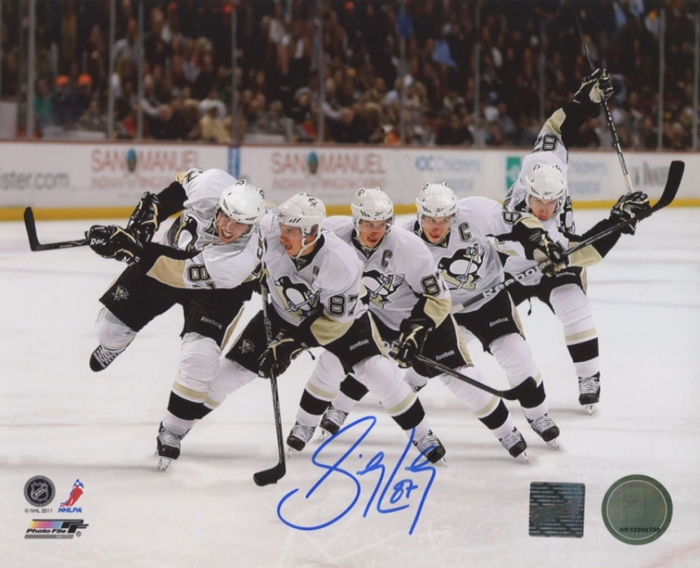 how to get sidney crosby autograph