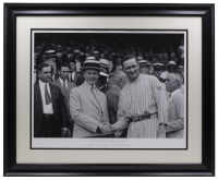 "Historical Photo Archive - ""The President & 'The Senator'"" LE 17x22 Custom Framed Fine Art Giclee (Historical Photo Archive LOA) at PristineAuction.com"