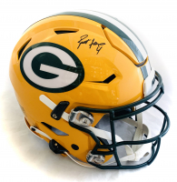 Brett Favre Signed Packers Full-Size Authentic On-Field SpeedFlex Helmet (Radtke COA) at PristineAuction.com