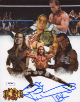 "Shawn Michaels Signed WWE 8x10 Photo Inscribed ""HBK"" (PSA COA) at PristineAuction.com"