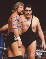 Ted DiBiase Signed WWE 8x10 Photo (PSA COA) at PristineAuction.com