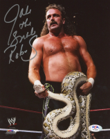 "Jake ""The Snake"" Roberts Signed WWE 8x10 Photo (PSA COA) at PristineAuction.com"