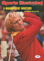 Jack Nicklaus Signed 1975 Sports Illustrated Magazine (PSA COA) at PristineAuction.com