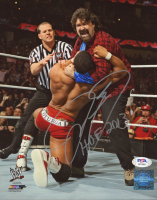 "Mick Foley Signed WWE 8x10 Photo Inscribed ""HOF 2013"" (PSA COA) at PristineAuction.com"