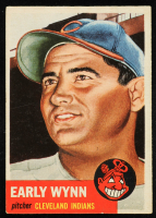 Early Wynn 1953 Topps #61 SP at PristineAuction.com