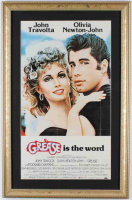 Grease 15x23 Custom Framed Movie Poster Display at PristineAuction.com