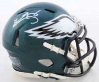 Donovan McNabb Signed Eagles Speed Mini Helmet (Beckett COA) at PristineAuction.com