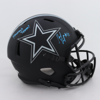 "Michael Gallup Signed Cowboys Eclipse Alternate Speed Full-Size Helmet Inscribed ""America's Team"" (JSA COA) at PristineAuction.com"