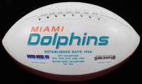"""Ricky Williams Signed Dolphins Logo Football Inscribed """"Smoke Weed Everyday!"""" (Radtke Hologram) at PristineAuction.com"""