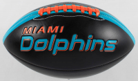 """Ricky Williams Signed Dolphins Logo Football Inscribed """"Grass Over Turf"""" (Radtke Hologram) at PristineAuction.com"""