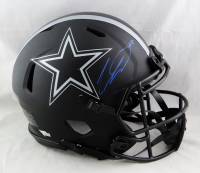 CeeDee Lamb Signed Cowboys Full-Size Authentic On-Field Eclipse Alternate Speed Helmet (Fanatics Hologram) at PristineAuction.com
