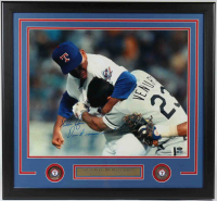 "Nolan Ryan Signed Rangers 24.5x26 Custom Framed Photo Display Inscribed ""Don't Mess With Texas!"" (AIV COA & Ryan Hologram) at PristineAuction.com"