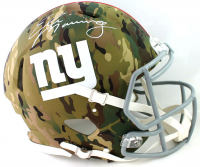 Eli Manning Signed Giants Full-Size Authentic On-Field Camo Alternate Speed Helmet (Fanatics Hologram) at PristineAuction.com