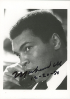 "Muhammad Ali Signed 5x7 Photo Inscribed ""12-20-88"" (JSA LOA) at PristineAuction.com"