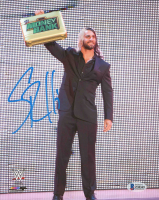 Seth Rollins Signed WWE 8x10 Photo (Beckett COA) at PristineAuction.com