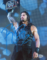 Roman Reigns Signed WWE 8x10 Photo (Beckett COA) at PristineAuction.com