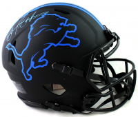 Barry Sanders Signed Lions Full-Size Authentic On-Field Eclipse Alternate Speed Helmet (Beckett Hologram) at PristineAuction.com