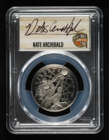Nate Archibald Signed 2020-S Basketball Hall of Fame Half Dollar, Clad - First Day of Issue (PCGS Proof-70 DCAM) at PristineAuction.com