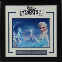 "Idina Menzel Signed ""Frozen"" 16x16 Custom Framed Photo Display (PSA COA) at PristineAuction.com"
