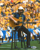 "Brad Paisley Signed 8x10 Photo Inscribed ""Go Mountaineers"" (Beckett COA) at PristineAuction.com"