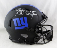 """Lawrence Taylor Signed Giants Full-Size Authentic On-Field Eclipse Alternate Speed Helmet Inscribed """"HOF 99"""" & """"I'm A Bad Mother******"""" (Beckett Hologram) at PristineAuction.com"""