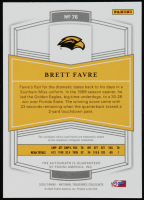 Brett Favre 2020 Panini National Treasures Collegiate #76 Autograph at PristineAuction.com