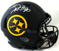 T.J. Watt Signed Steelers Full-Size Authentic On-Field Eclipse Alternate Speed Helmet (Beckett Hologram) at PristineAuction.com