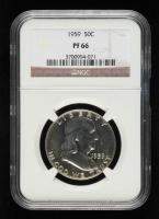 1959 Franklin Silver Half Dollar (NGC PF66) at PristineAuction.com