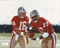 Joe Montana & Roger Craig Signed 49ers 8x10 Photo (JSA COA) at PristineAuction.com