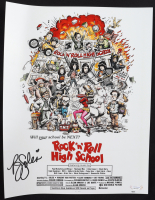 "P. J. Soles Signed ""Rock 'n' Roll High School"" 11x14 Movie Poster Print (PSA COA) (See Description) at PristineAuction.com"