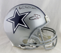 Troy Aikman, Emmitt Smith, & Michael Irvin Signed Cowboys Full-Size Authentic On-Field Helmet (Beckett Hologram & JSA Hologram & Prova Hologram) at PristineAuction.com