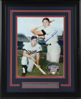 Harmon Killebrew Signed Twins 18.5x22.5 Custom Framed Photo Display (AIV COA) at PristineAuction.com