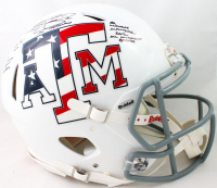 Johnny Manziel Signed Texas A&M Aggies Full-Size Authentic On-Field Speed Helmet With Multiple Inscriptions (JSA Hologram) at PristineAuction.com