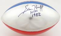 "Sam Huff Signed NFL Mini Football Inscribed ""HOF 1982"" (JSA COA) (See Description) at PristineAuction.com"