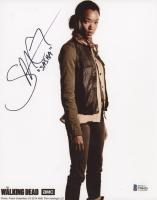 "Sonequa Martin-Green Signed ""The Walking Dead"" 8x10 Photo Inscribed ""Sasha"" (Beckett COA) at PristineAuction.com"