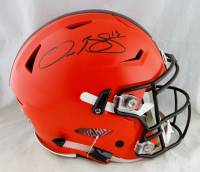 Odell Beckham Jr. Signed Browns Full-Size Authentic On-Field SpeedFlex Helmet (JSA Hologram) at PristineAuction.com