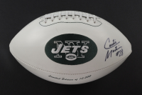 Curtis Martin Signed LE Jets Logo Football (JSA COA) at PristineAuction.com