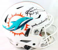 """Ricky Williams Signed Dolphins Full-Size Authentic On-Field SpeedFlex Helmet Inscribed """"Smoke Weed Everyday!"""" (Beckett Hologram) at PristineAuction.com"""